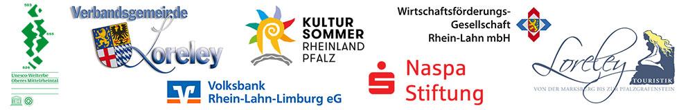 Logos der Sponsoren für die Blüchertagen 2017